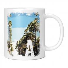 LOS ANGELES CITY GRUNGE PRINT 11OZ NOVELTY MUG