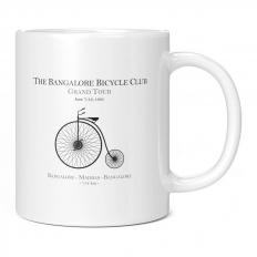 BANGALORE BICYCLE CLUB 11OZ NOVELTY MUG