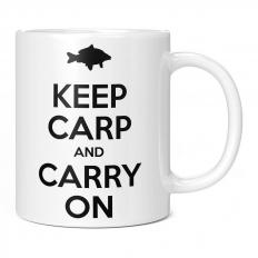 KEEP CARP AND CARRY ON 11OZ NOVELTY MUG