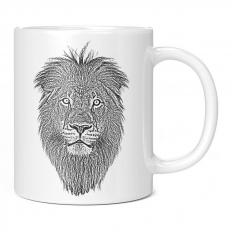 LION SKETCH 11OZ NOVELTY MUG