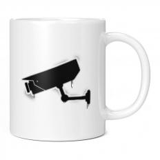 CCTV GRAFFITI 11OZ NOVELTY MUG