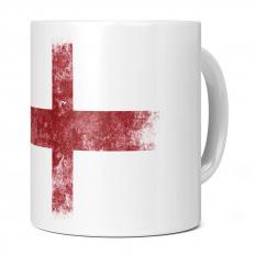 ENGLAND ST GEORGE DISTRESSED FLAG 11OZ NOVELTY MUG