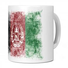 AFGHANISTAN DISTRESSED FLAG 11OZ NOVELTY MUG