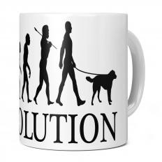 AKBASH DOG EVOLUTION 11OZ NOVELTY MUG