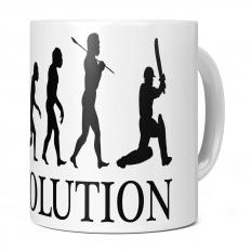 CRICKETER EVOLUTION 11OZ NOVELTY MUG