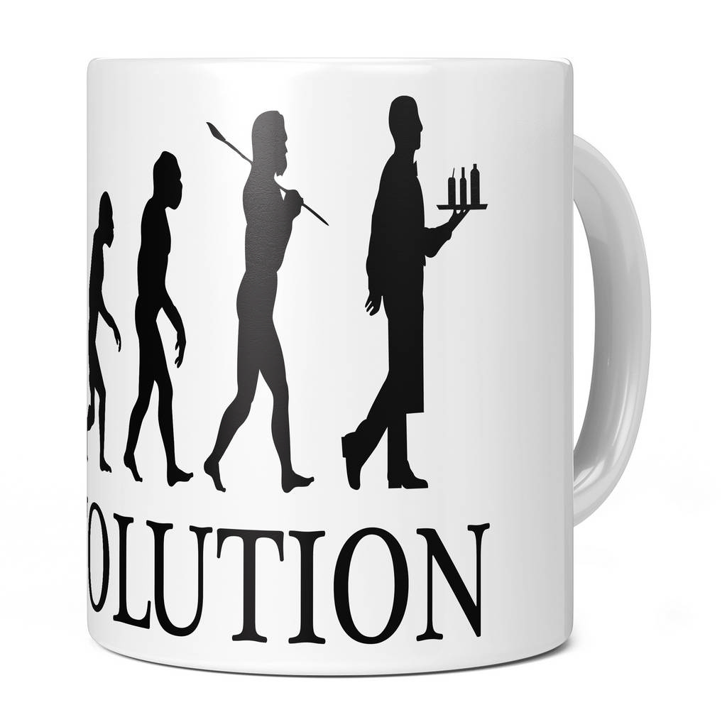 WAITER EVOLUTION 11OZ NOVELTY MUG