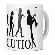 ABSEILING EVOLUTION 11OZ NOVELTY MUG