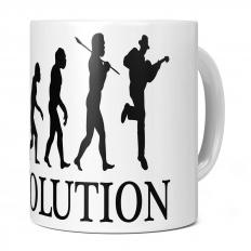 ACOUSTIC GUITARIST EVOLUTION 11OZ NOVELTY MUG