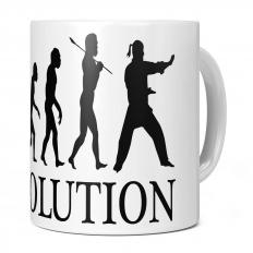 AIKIDO EVOLUTION 11OZ NOVELTY MUG