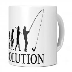 ANGLING EVOLUTION 11OZ NOVELTY MUG
