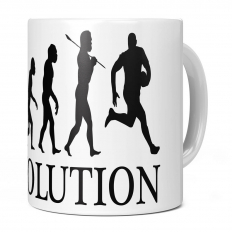 AUSSIE RULES EVOLUTION 11OZ NOVELTY MUG