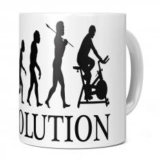 CYCLING MACHINE EVOLUTION 11OZ NOVELTY MUG