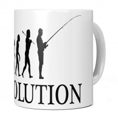 FISHING EVOLUTION 11OZ NOVELTY MUG