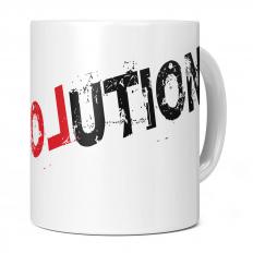LOVE REVOLUTION 11OZ NOVELTY MUG