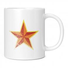 FADED COMMUNIST STAR 11OZ NOVELTY MUG