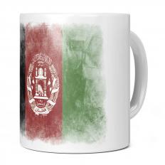 AFGHANISTAN FADED FLAG 11OZ NOVELTY MUG