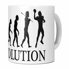 AMERICAN FOOTBALL QUARTERBACK EVOLUTION 11OZ NOVELTY MUG