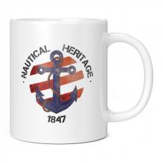 NAUTICAL HERITAGE 1847 11OZ NOVELTY MUG