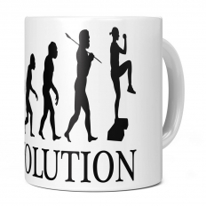 AEROBICS EVOLUTION 11OZ NOVELTY MUG