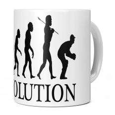 CRICKET WICKET KEEPER EVOLUTION 11OZ NOVELTY MUG