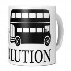 OLD LONDON BUS DRIVER EVOLUTION 11OZ NOVELTY MUG