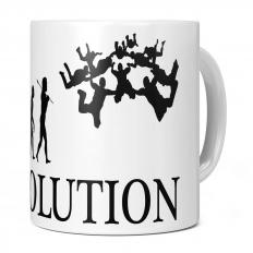 SKYDIVE TEAM EVOLUTION 11OZ NOVELTY MUG