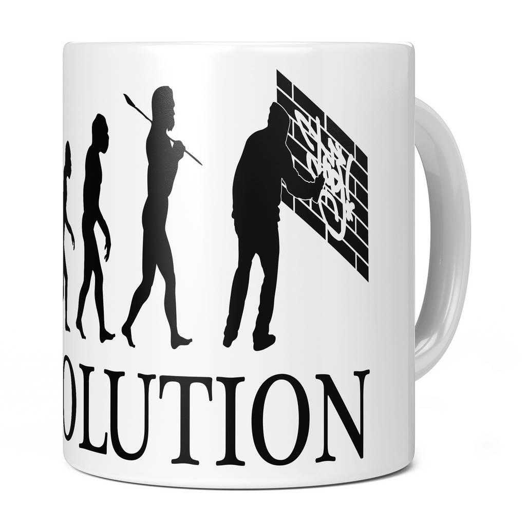 GRAFFITI EVOLUTION 11OZ NOVELTY MUG