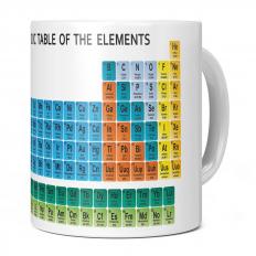 PERIODIC TABLE OF ELEMENTS 11OZ NOVELTY MUG