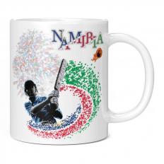 NAMIBIA CRICKETER 11OZ NOVELTY MUG