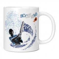 SCOTLAND CRICKETER 11OZ NOVELTY MUG