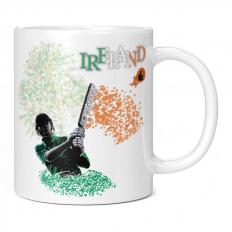 IRELAND CRICKETER 11OZ NOVELTY MUG