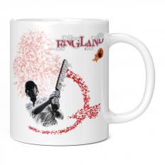 ENGLAND CRICKETER 11OZ NOVELTY MUG
