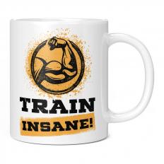 TRAIN INSANE 11OZ NOVELTY MUG