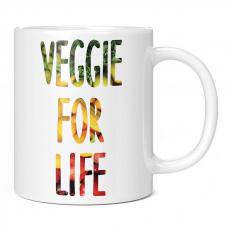 VEGGIE FOR LIFE 11OZ NOVELTY MUG