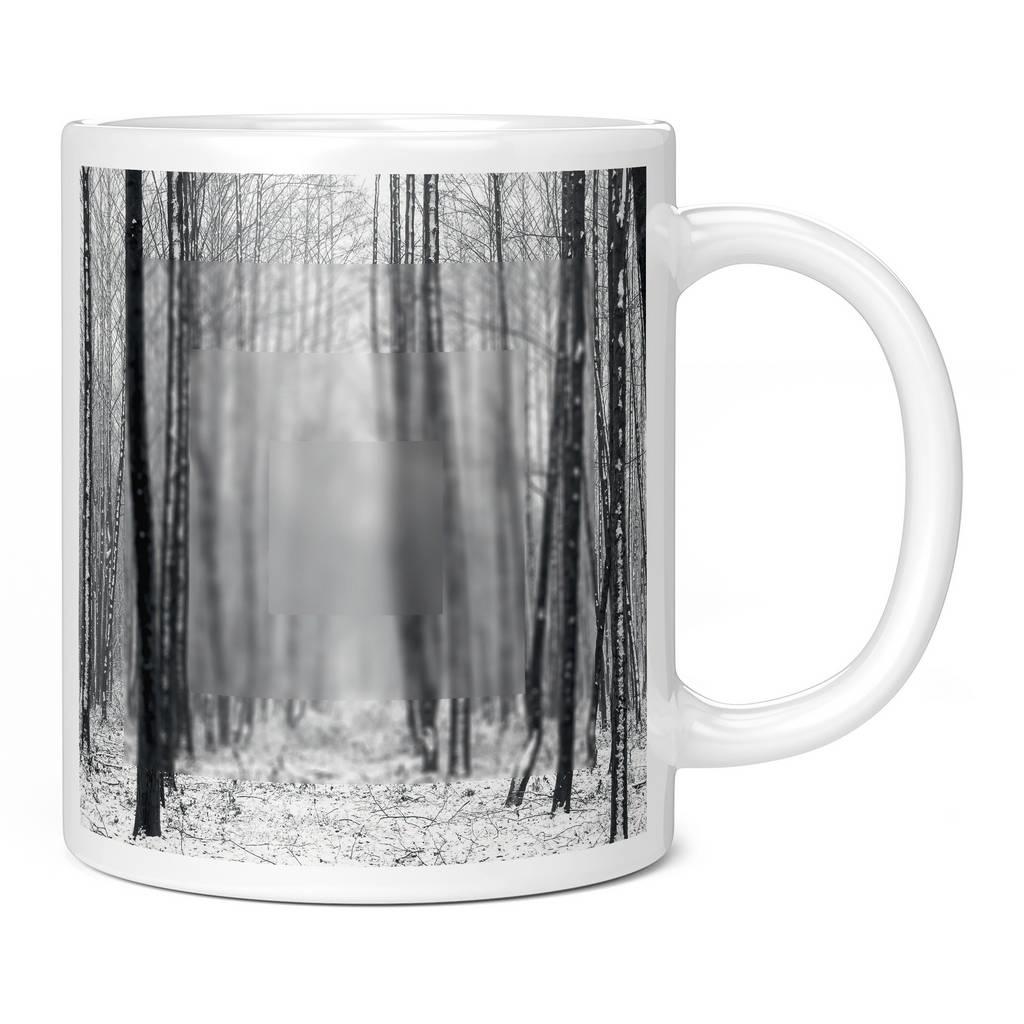 BLURRY SNOWY FOREST 11OZ NOVELTY MUG