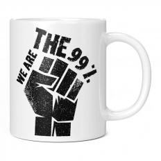 WE ARE THE 99 PERCENT 11OZ NOVELTY MUG