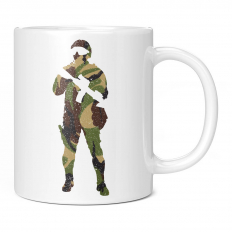 BRITISH CAMO SOLDIER 11OZ NOVELTY MUG