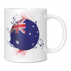 AUSTRALIA FOOTBALL 11OZ NOVELTY MUG