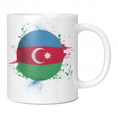 AZERBAIJAN FOOTBALL 11OZ NOVELTY MUG