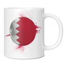 BAHRAIN FOOTBALL 11OZ NOVELTY MUG