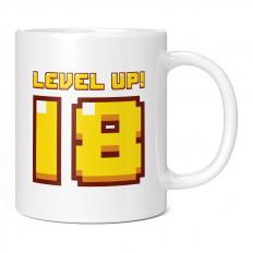 LEVEL UP 18 11OZ NOVELTY MUG
