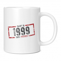 MADE IN 1999 11OZ NOVELTY MUG