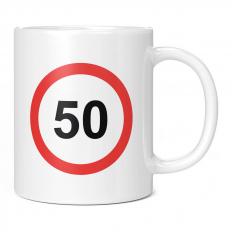 50 SPEED LIMIT 11OZ NOVELTY MUG