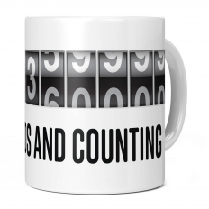 10TH BIRTHDAY 315360000 SECONDS AND COUNTING 11OZ NOVELTY MUG
