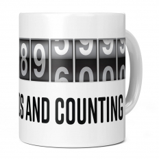 11TH BIRTHDAY 346896000 SECONDS AND COUNTING 11OZ NOVELTY MUG