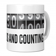 14TH BIRTHDAY 441504000 SECONDS AND COUNTING 11OZ NOVELTY MUG