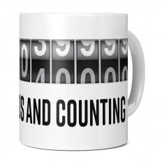 15TH BIRTHDAY 473040000 SECONDS AND COUNTING 11OZ NOVELTY MUG