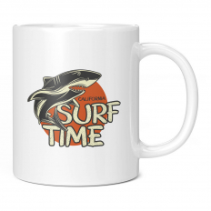 CALIFORNIA SURF TIME 11OZ NOVELTY MUG