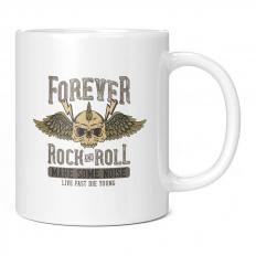 FOREVER ROCK N ROLL MAKE SOME NOISE 11OZ NOVELTY MUG