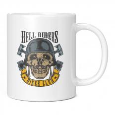 HELL RIDERS BIKER CLUB 11OZ NOVELTY MUG